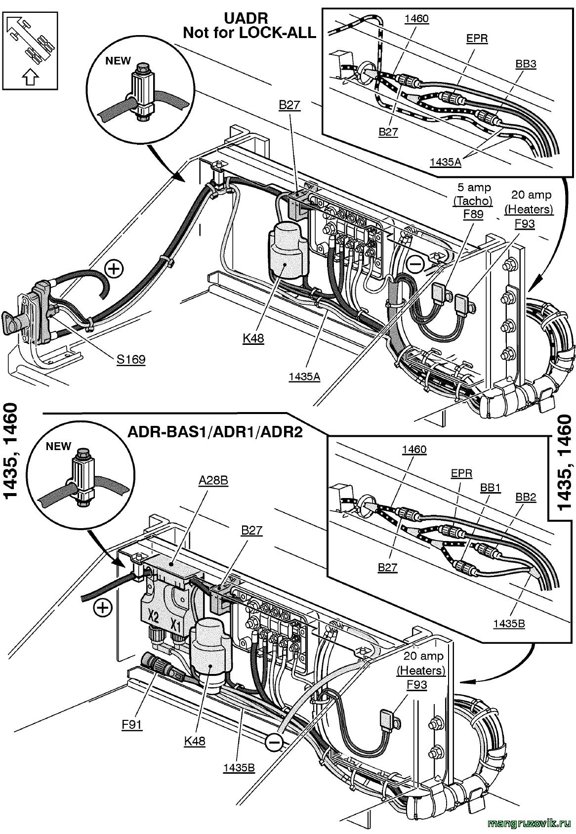 ман ф2000 электрическая схема