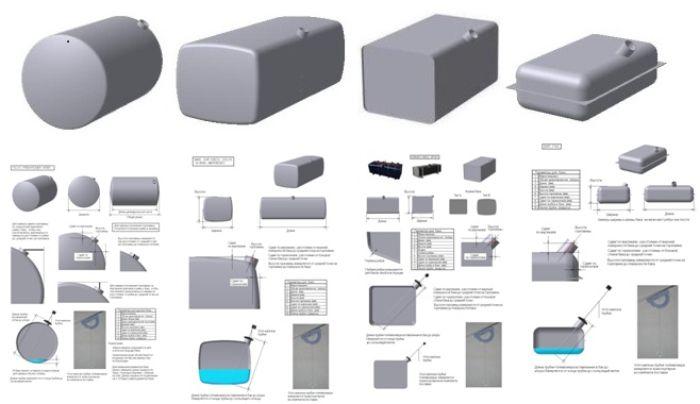 Заправочные объёмы – Приложения – УАЗ