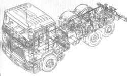 F2000,F90 предохранители и реле и разводка монтажного блока