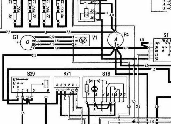 Схема электрооборудования для газ 31105 фото 854