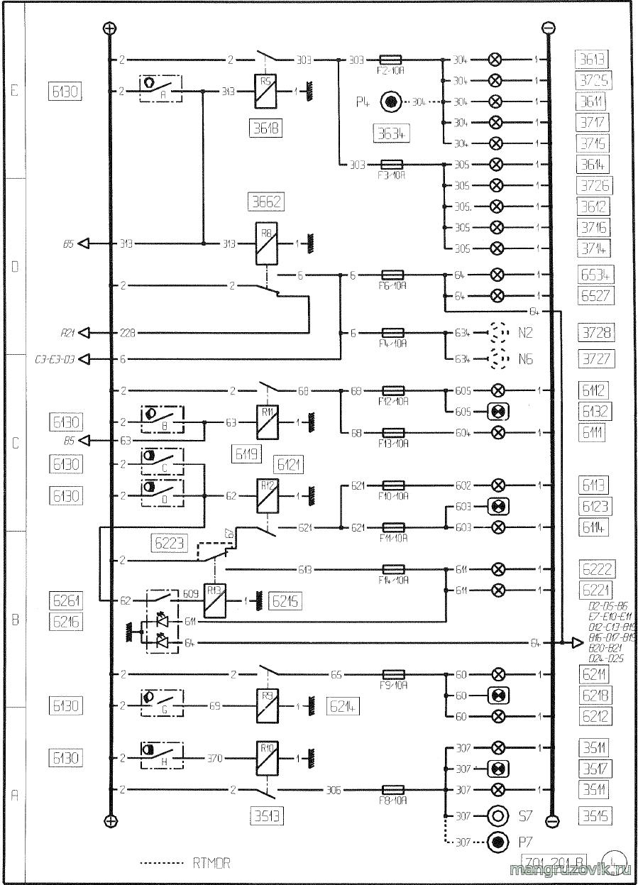 Схема электрооборудования рено премиум фото 453